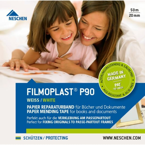 PAT tesztelt javítószalag, filmoplast P 90