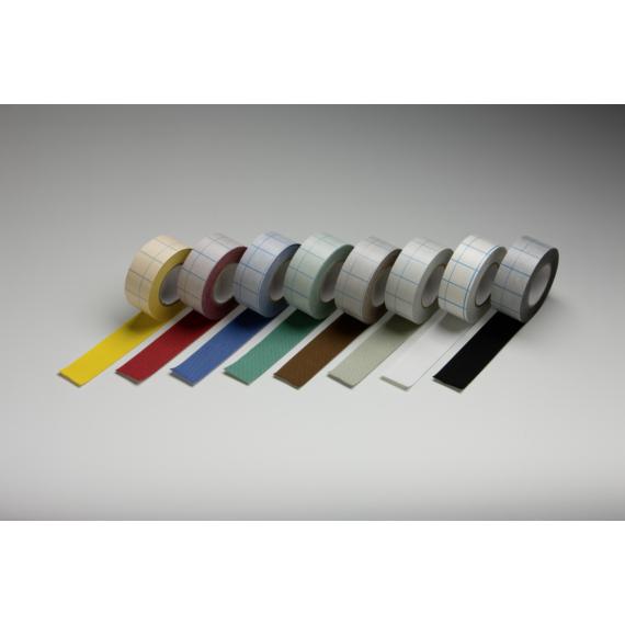 filmoplast T Neschen öntapadós textil falcoló szalag, fehér, 10x1,24 m